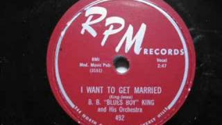 B.B.King - I Want To Get Married
