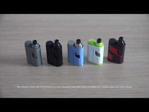YouTube Video zu Eleaf iKuu Total Kit mit Ello Mini XL Verdampfer 50 Watt 5.5 ml