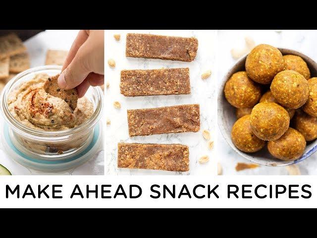 HEALTHY SNACK IDEAS | Make Ahead Snacks for Work or School