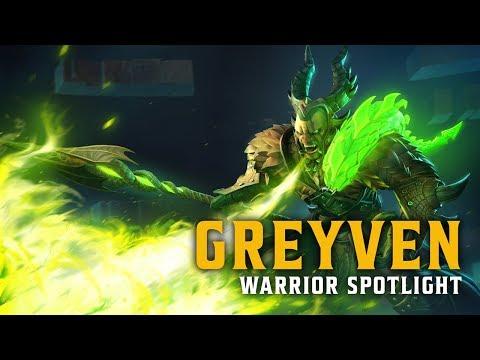 Warrior Greyven Anchors Latest Alpha Event