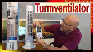 2021 ALDI Angebot Easy Home Turm-Ventilator ❆ preiswerte Lösung zur kühlen Wohnung - ALDI Klimagerät