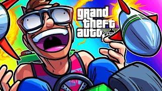 GTA5 Funny Moments - Kart Krash!