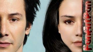 Экстремальная ретушь лица в фотошопе. Превращаем лицо Киану Ривза в лицо девушки. Speed Art