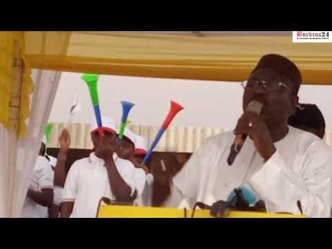 Eddie Komboigo promet de faire taire les armes dès son élection