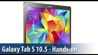 Samsung Galaxy Tab S 10.5 - Lutz Herkners erster Eindruck | deutsch / german