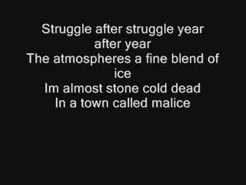 Música A Town Called Malice