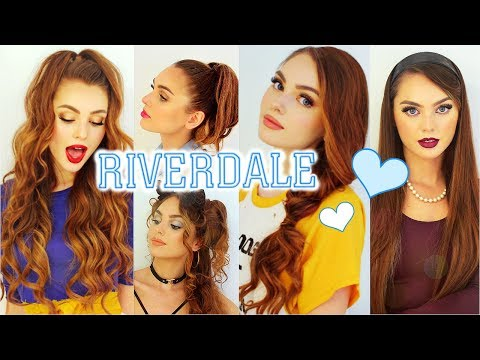 The Cw Riverdale Hairstyles Cheryl Blossom Betty Cooper Veronica