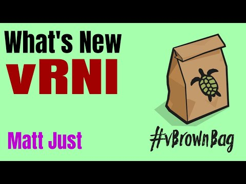 What's new in vRNI with Matt Just
