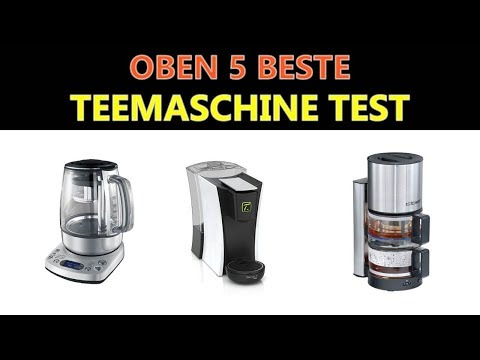 Beste Teemaschine Test 2019