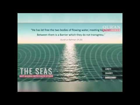 Islam & Modern Research (Two Seas which are mixing with each other)