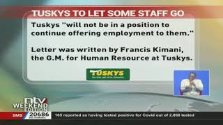 Tuskys Supermarkets has officially declared that it is going to