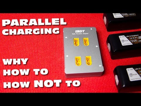 How to parallel charge Safely? a How-to video...