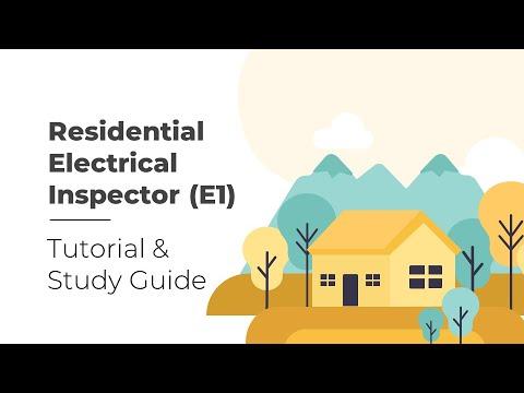 Residential Electrical Inspector E1 Exam Tutorial - YouTube