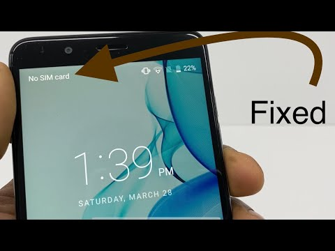 How to Fix No SIM Card, Invalid SIM, Or SIM Card Failure Error on Android ZTE