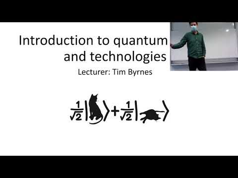 L1 Overview : Introduction to quantum computing course 2021 ...