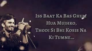 Isme Tera Ghata Lyrics Video Song