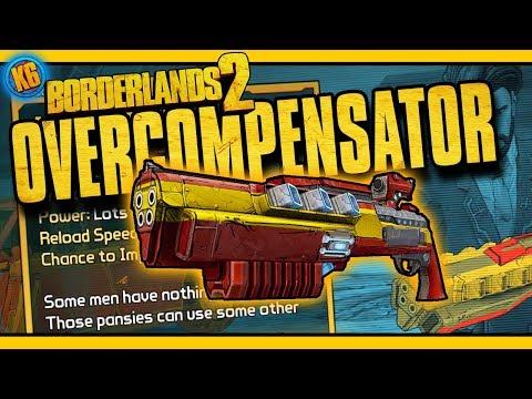 OVERCOMPENSATOR - New DLC Legendary [Borderlands 2]