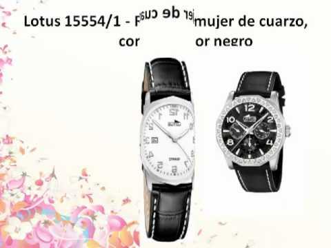 Los 10 Mejores relojes lotus mujer Para Comprar.mp4