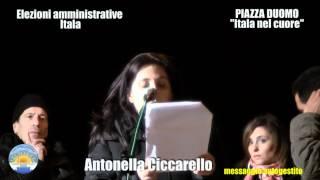 preview picture of video 'Itala. Antonella Ciccarello. Lista Itala nel cuore. Piazza Duomo - 21 aprile 2012'