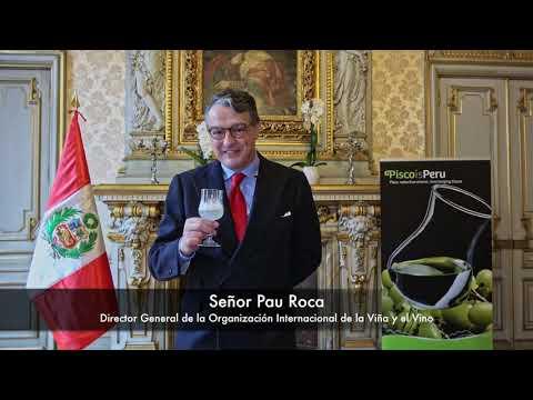 Saludo del Director General de la Organización Internacional de la Viña y el Vino con ocasión del Día del Pisco Sour