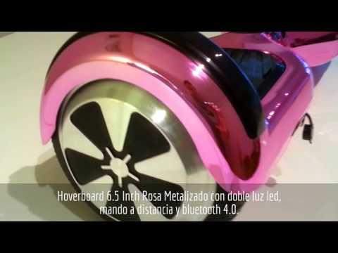 Hoverboard 6.5 Inch Rosa Metalizado -GC Distribuciones.Es