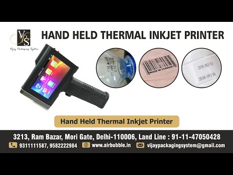 Handheld Inkjet Batch Coding & Printing Machine