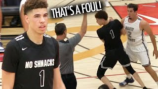 LaMelo Ball FOULED HARD Then GETS REVENGE In TOUGH Drew League Matchup