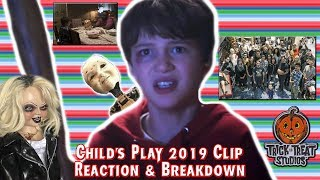 """Child's Play 2019 Clip """"Peekaboo"""" REACTION & BREAKDOWN, NEW BTS Images & TOTS Tiffany CONFIRMED"""