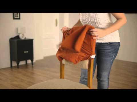 Stuhl-Husse mit Rückenlehne