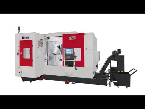 Axon präsentiert: Dreh-Fräszentrum Litz TM 2500 S mit Siemens 840 D SL