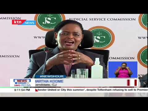 Facing The Panel: Lady justice Martha Koome put to task over a controversial ruling