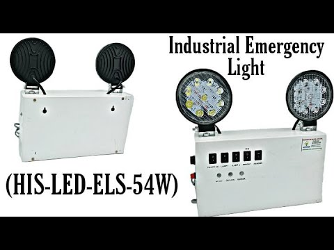 27W High Power Emergency Exit Light
