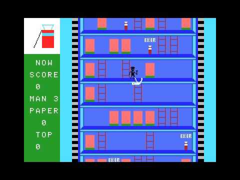 Ladder Building (1983, MSX, ASCII Corporation)