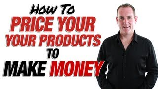 preview picture of video 'How To Price Your Online Products To Make You Money'