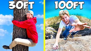 Who can Climb the HIGHEST?! - EXTREME CHALLENGE