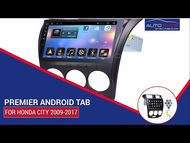 Premier Android Tab For Honda City 2009-2016 Video