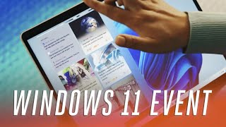 Microsoft Windows 11 event in 7 minutes: Android Apps, New Start Menu, Free Upgrade