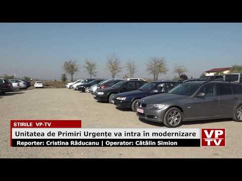 Unitatea de Primiri Urgențe va intra în modernizare