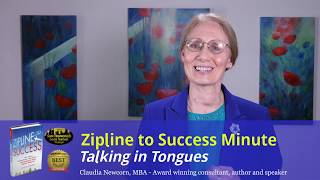 Zipline Minute #11: Talking in Tongues