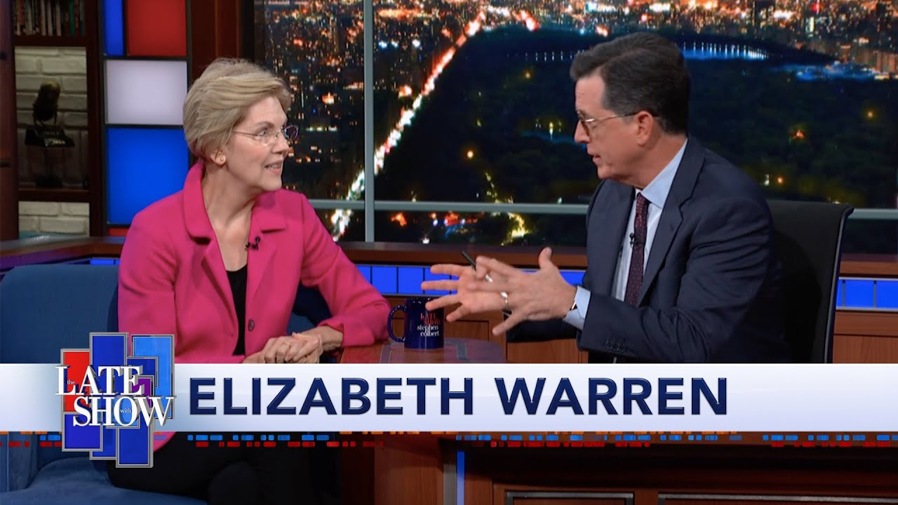 Elizabeth Warren: No President Gets To Declare War On Their Own thumbnail
