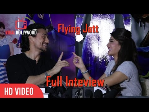 UNCUT - Flying Jatt Cast Full Interview | Tiger Shroff And Jacqueline Fernandez