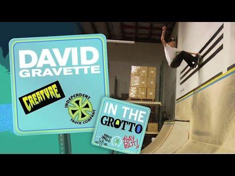 David Gravette: In The Park for Creature Skateboards