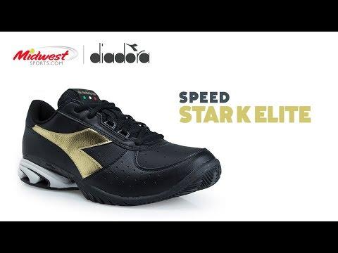 best sneakers 849c0 19f8f Diadora Star K Elite Tennis Shoe - Midwest Sports