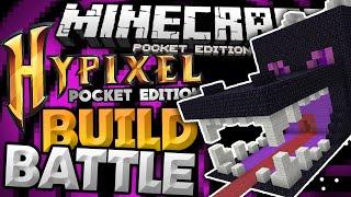 BUILD BATTLE for MCPE 0.13.0!!! - Hypixel PE Minigames Server - Minecraft PE (Pocket Edition)