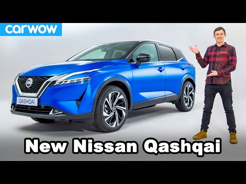 New Nissan Qashqai 2021 revealed... and I almost break it!