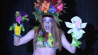 Aunt Betty Malone performs Tiki Room Hawaiian War Chant at the Bacon Strip June 2014