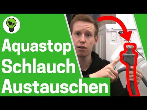 Aquastop Schlauch austauschen & reparieren ✅ WASSERSTOP der Waschmaschine & Spülmaschine verlängern!