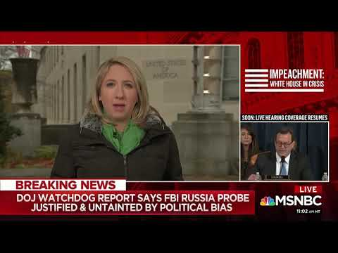 """MSNBC: IG Report Finds """"A Lot Of Mistakes Made"""""""
