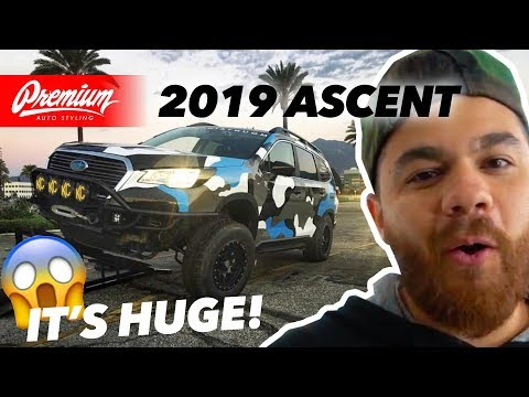 CRAZY Off-Road SUBARU Gets VINYL WRAPPED | Custom 2019 Subaru Ascent