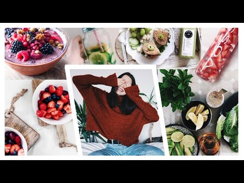 Video HOW TO START EATING HEALTHY IN 2017 & STICK TO IT / 5 Simple Tips / Nika Erculj